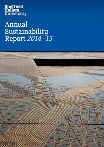 Annual Sustainability Report 2014–15