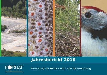 FORNAT Jahresbericht 2010
