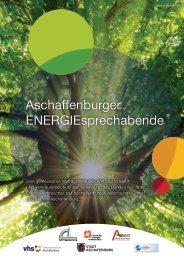 Aschaffenburger ENERGIEsprechabende - Frühjahr 2016