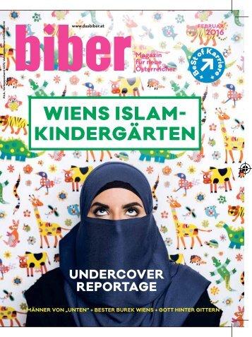 BIBER Februar Ausgabe 2016