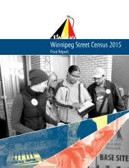 Winnipeg Street Census 2015