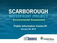 Environmental Assessment Public Information Centre #1