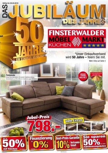 Das Jubiläum des Jahres: Finsterwalder Möbelmarkt