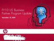 FY10 US Business Partner Program Update