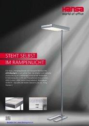 LED Leuchten - Lampen für Büro und Schreibtisch von Buerogummi.ch