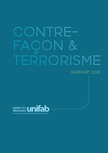 CONTRE- FAÇON & TERRORISME