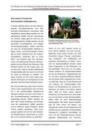 Ein Plädoyer für die Erhaltung der Farbenvielfalt und zur Erweiterung der genetischen Vielfalt in der Schwarzwälder Kaltblutzucht