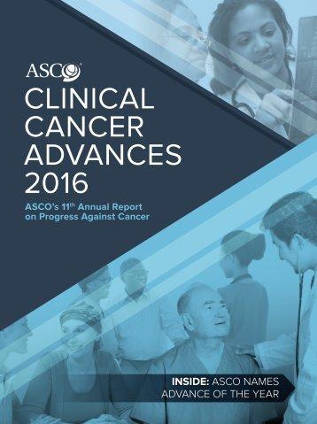 CLINICAL CANCER ADVANCES 2016