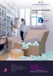 Verpackungsmaterial & Hygienebedarf von Buerogummi.ch