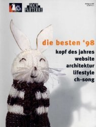 website architektur - R.Ø.SA