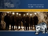 Corporate Presentation October 2012 - Great Panther Silver