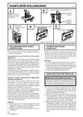 Pioneer CT-W208R - User manual - turc - Page 4