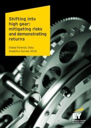 Shifting into high gear mitigating risks and demonstrating returns