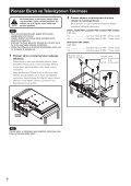 Pioneer KRP-TS02 - User manual - turc - Page 6