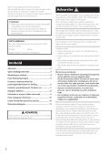 Pioneer PDK-TS36B - User manual - norvégien - Page 2