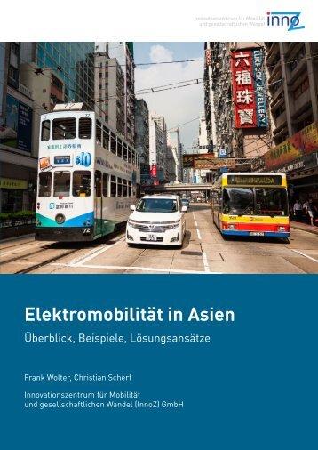 Elektromobilität in Asien