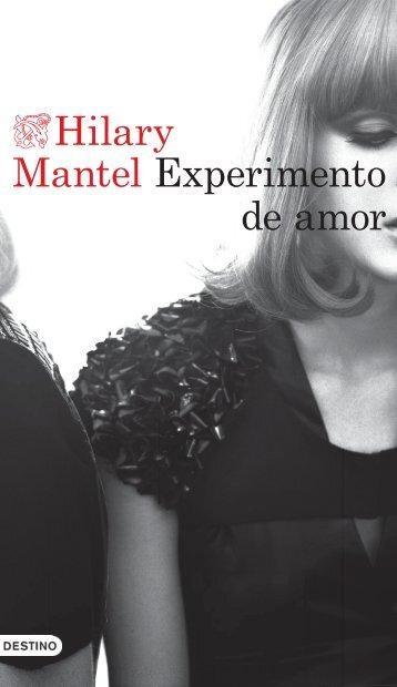 Mantel Experimento de amor