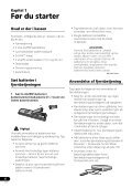 Pioneer DVR-540HX-S - User manual - danois - Page 6