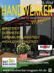 HANDWERKER MAGAZIN 2015-2