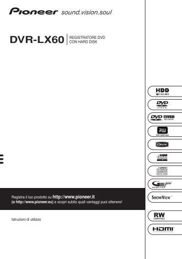 Dvr lx60 Manual