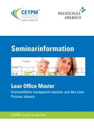 Lean Office Master - CETPM