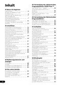 Pioneer DVR-545HX-S - User manual - allemand - Page 4