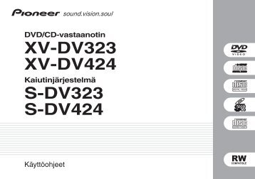 Pioneer DCS-424 - User manual - finnois
