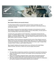 Defence and security industry fact sheet (pdf, 125.35
