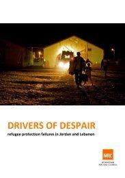 DRIVERS OF DESPAIR