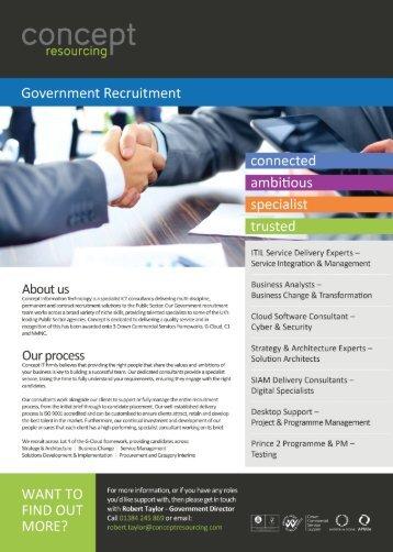 Government Recruitment