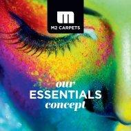 M2Carpets Brochure Our Essentials concept