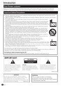 Pioneer KRL-46V - User manual - allemand, anglais, espagnol, français, italien, néerlandais, russe - Page 4