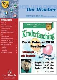 Der Uracher KW 05-2016
