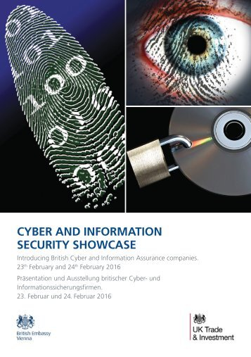 CYBER AND INFORMATION SECURITY SHOWCASE