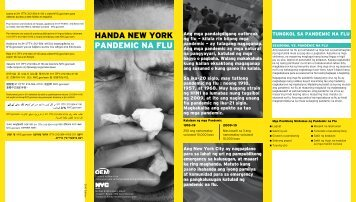 HANDA NEW YORK PANDEMIC NA FLU - NYC.gov