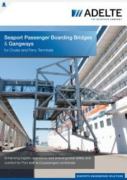 Seaport Passenger Boarding Bridges & Gangways