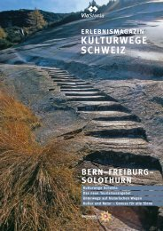 kulturwege schweiz - UNESCO Welterbe Schweizer Alpen Jungfrau ...