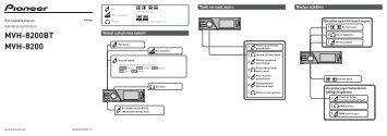 Pioneer MVH-8200BT - Quickstart manual - turc