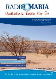 Radio Maria Schweiz - Februar 2016
