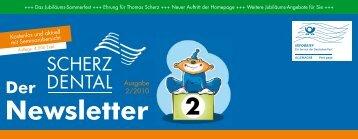 Knochenfräser – die newcomer Praxisbericht ... - Scherz Dental