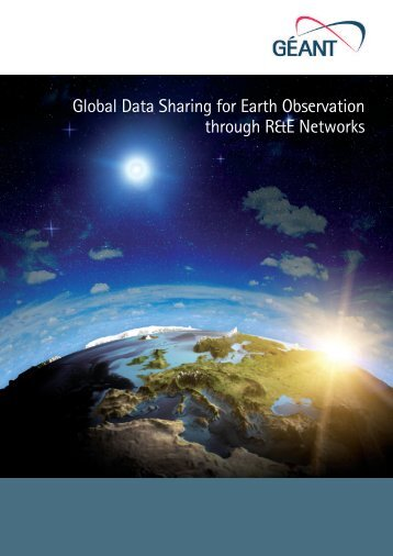 Global Data Sharing for Earth Observation through R&E Networks