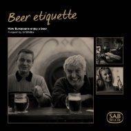 Beer etiquette Report