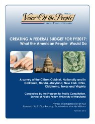 CREATING A FEDERAL BUDGET FOR FY2017