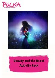 Beauty and the Beast Activity Pack