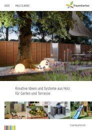 Traumgarten - Sichtschutz aus Holz