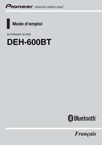 Pioneer deh-600bt user manual | page 10 / 14 | original mode.