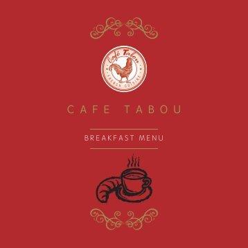 CAFE TABOU