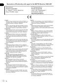 Pioneer DEH-P8100BT - User manual - portugais - Page 2