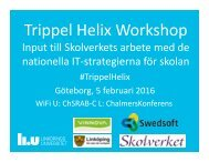 Trippel Helix Workshop