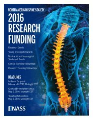 2016 RESEARCH FUNDING